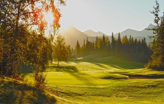Golfin at Anchorage Golf Course